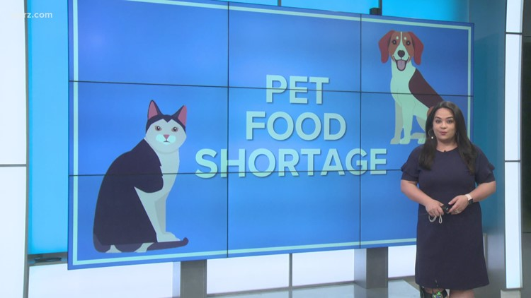 Pet food shortage in stores, online