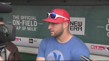 Bisons host Tim Tebow, Syracuse for 3-game series this week