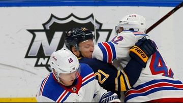 Sabres' Kyle Okposo diagnosed with another concussion