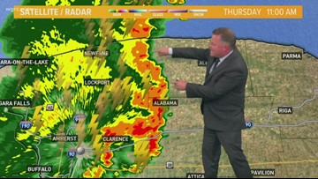 Storm Team 2 Patrick Hammer Has Your Midday Forecast For August 8, 2019