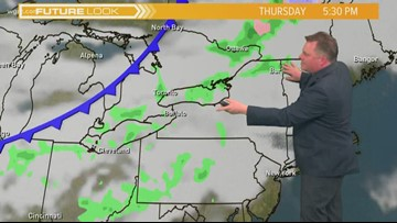 Storm Team 2 Patrick Hammer's Midday Forecast for 3/28/19