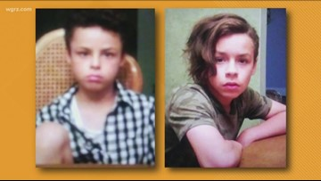 Two missing boys returned home
