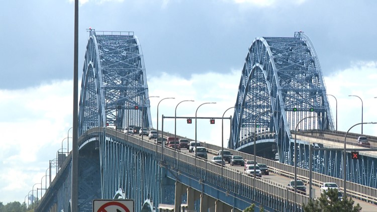 Southbound, South Grand Island Bridge will be closed this weekend
