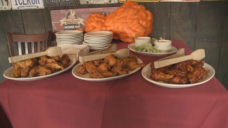 The list, created by Visit Buffalo Niagara, lists 12 restaurant/pubs that have perfected the chicken wing.
