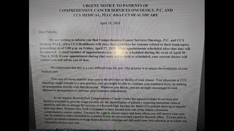 CCS Patient Letter
