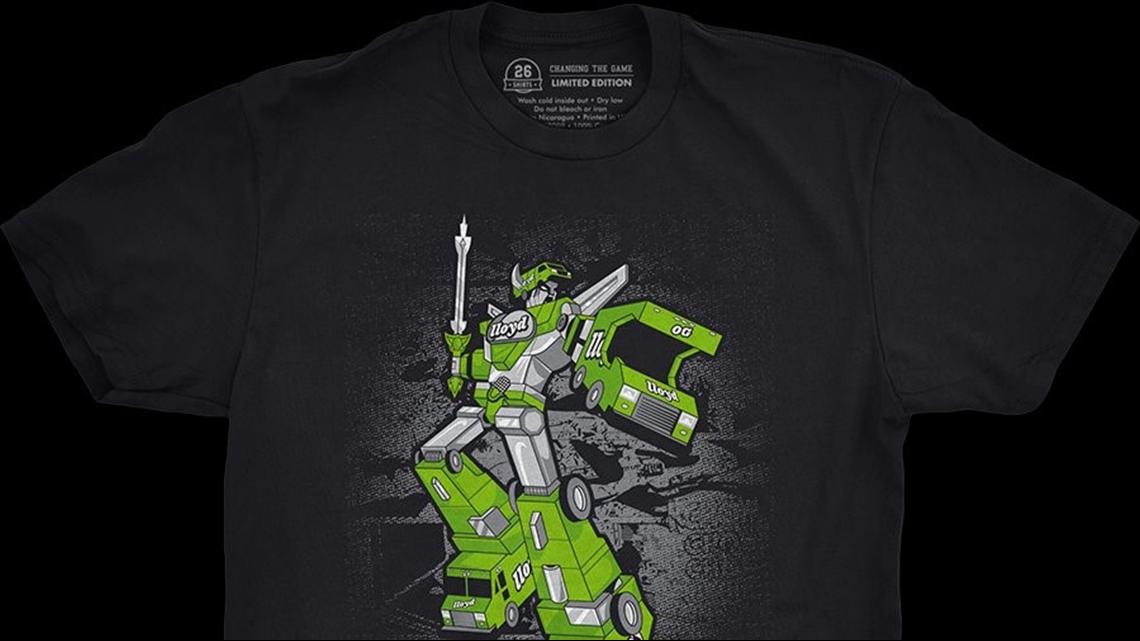 bb4577efcd6 26 Shirts unveils  Lloyd-Tron  shirt