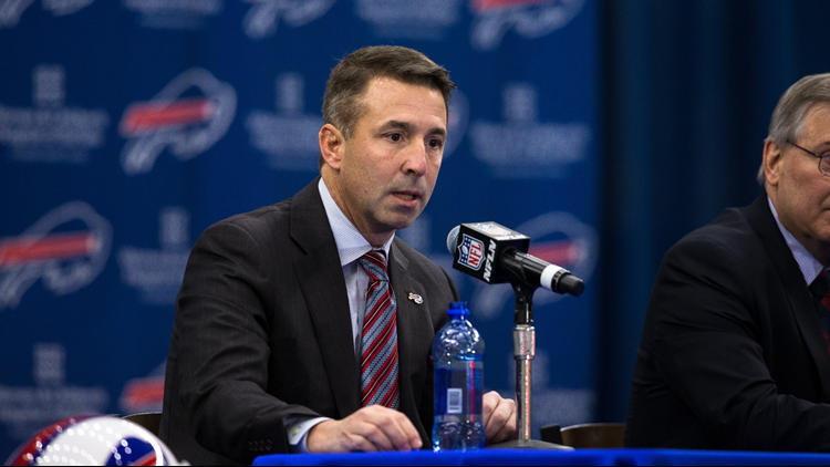 """Nearly two weeks since former Bills and Sabres president Russ Brandon resigned abruptly, the NFL is """"satisfied"""" with how the Bills addressed concerns about his resignation."""