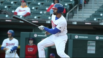 Pompey Homers Twice in Bisons Loss