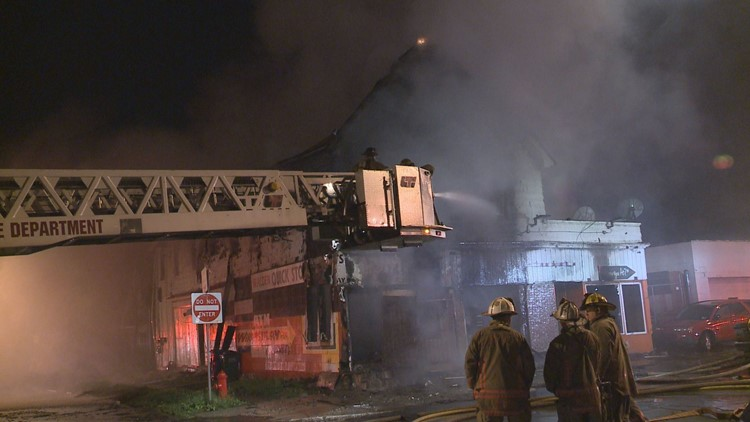 BUFFALO -- A Buffalo business is considered a total loss after an overnight fire Wednesday morning, according to Buffalo Fire.