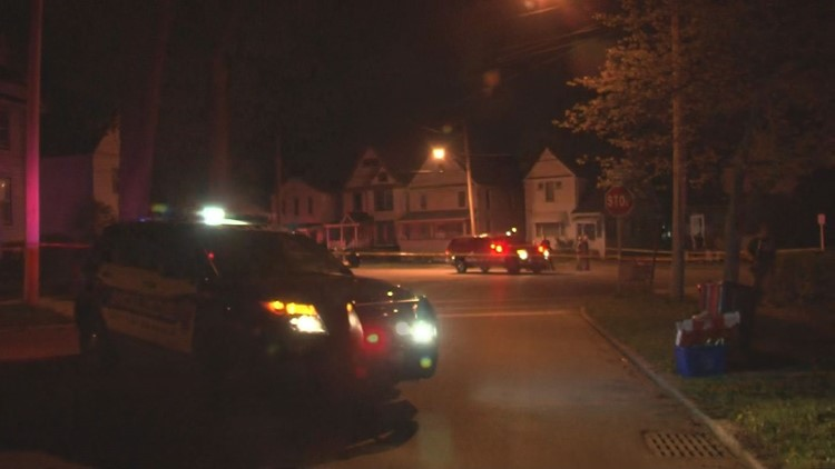 One person is dead, another is in serious condition after a shooting and stabbing in Batavia.