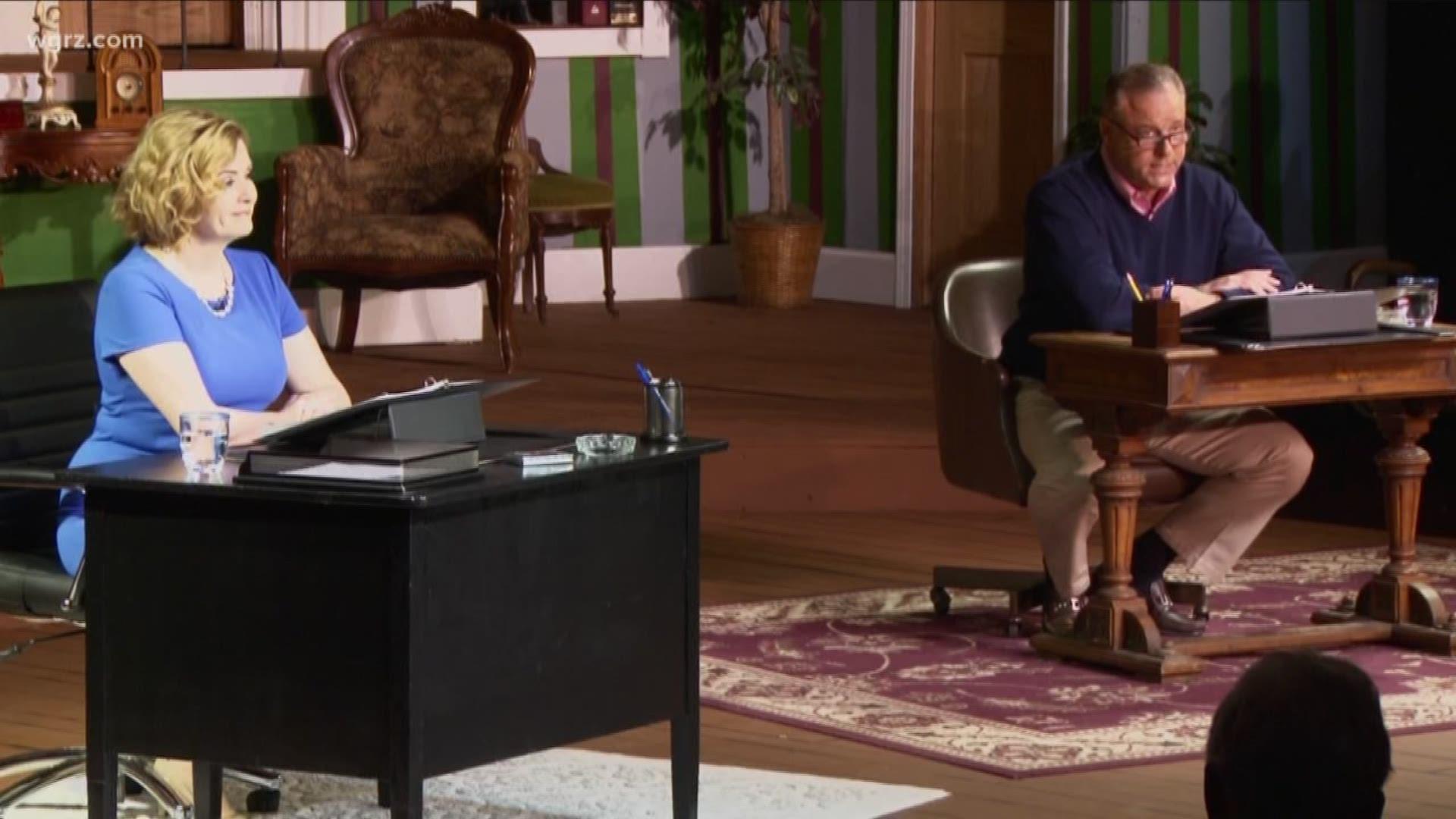 Channel 2 S Own Scott Levin Maryalice Demler Perform Love Letters Wgrz Com