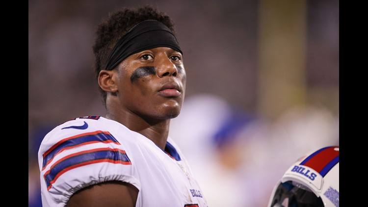 ORCHARD PARK, N.Y. (AP) - Buffalo Bills receiver Zay Jones has had knee surgery that will prevent him from participating in the team's series of spring practices.