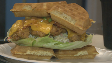 Unique Eats: Mumbles Chicken and Waffles