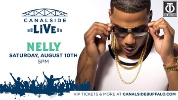 Nelly added to Canalside Live concert series in August
