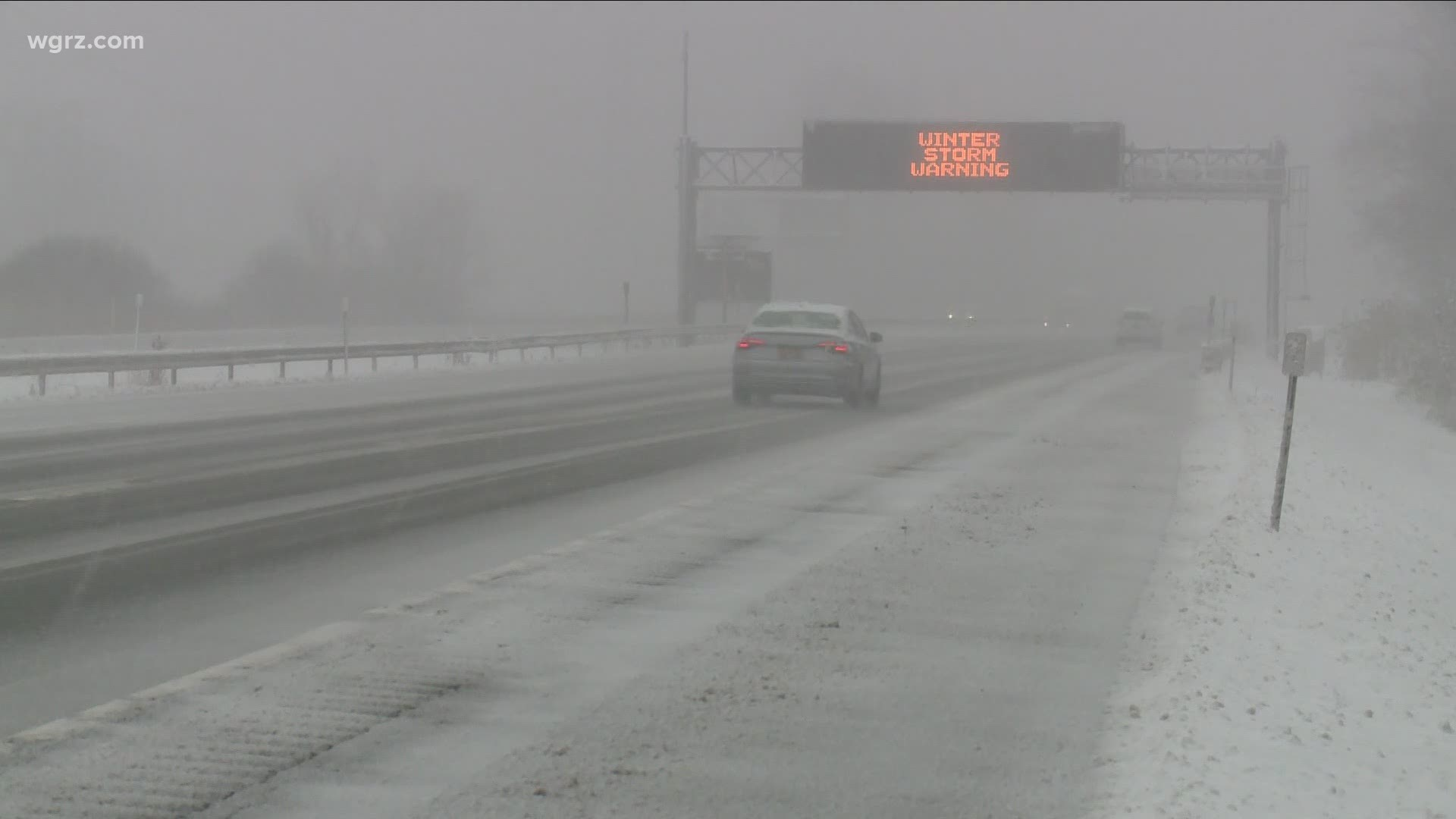 Lessening Snowfall Prompts Erie County To Lift Travel Advisory Wgrz Com
