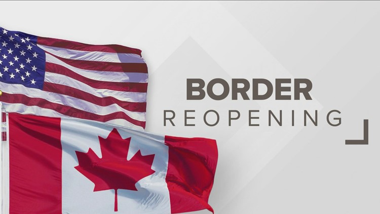 Border to reopen to Canadians in November