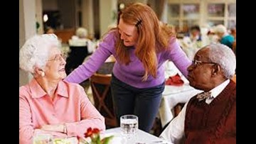 Stepping Stones in card needs:  assisted living combines help and social life