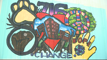 Students unveil 'Me, My City, My Future' mural