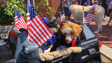 Lancaster hosts fourth annual Patriotic Paws Parade