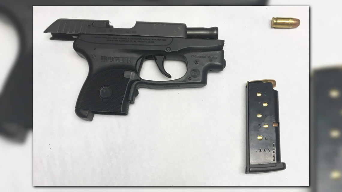 olean woman caught with loaded gun at airport