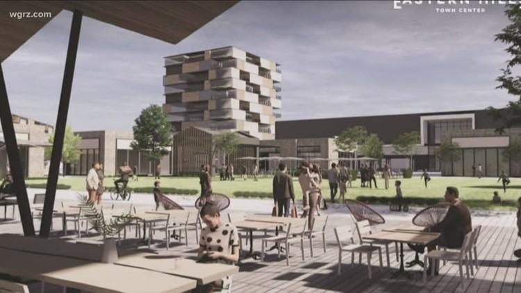 Uniland tweaks plans for Eastern Hills Mall town center redevelopment