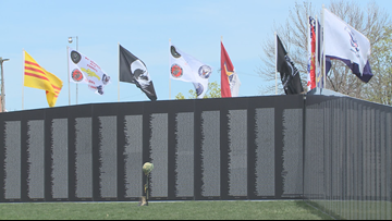 Vietnam Traveling Memorial Wall comes to Falls