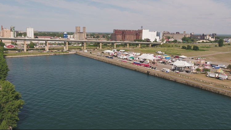 It is going to be a hot weekend, but cooler near the lake at the Italian Festival.