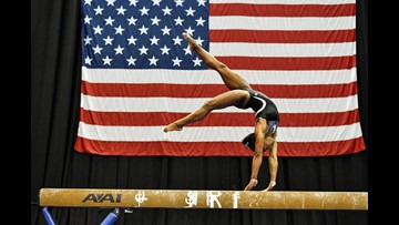 Biles Returns to Competition With Win