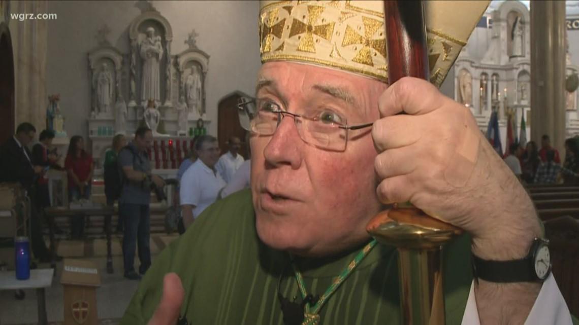 Bishop Richard Malone talks one-on-one with WGRZ