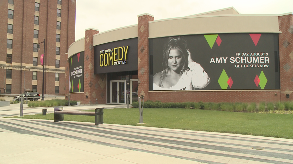 national comedy center opens tomorrow