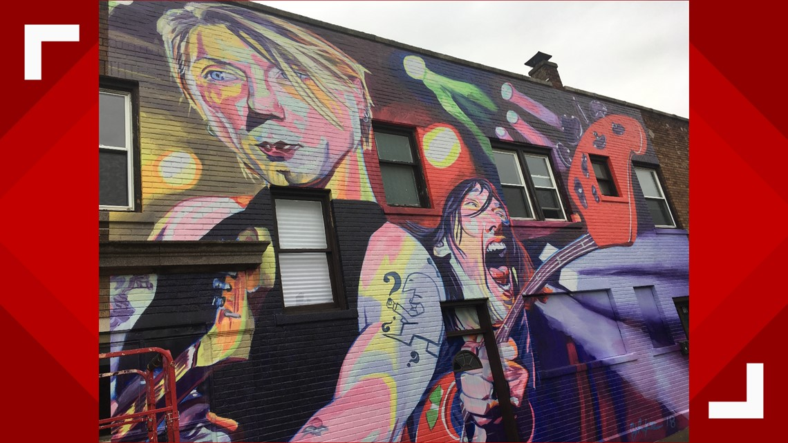 new mural featuring goo goo dolls slides into north