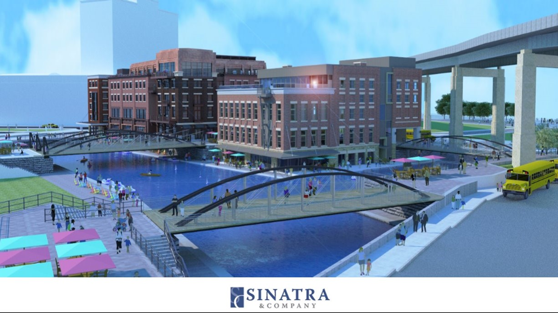retail  residential space proposed for canalside