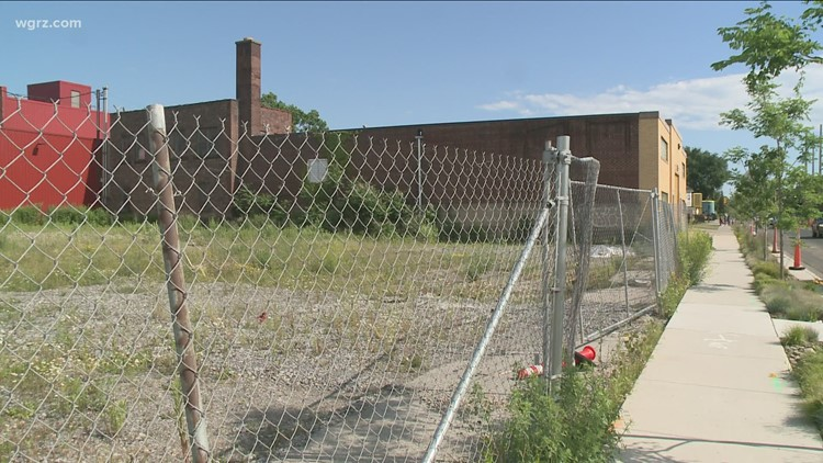 What's going on with those movie studios being built in Buffalo?