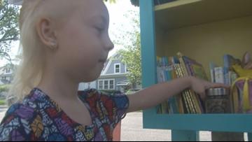 WNY's Great Kids: Berlyn's Little Free Library