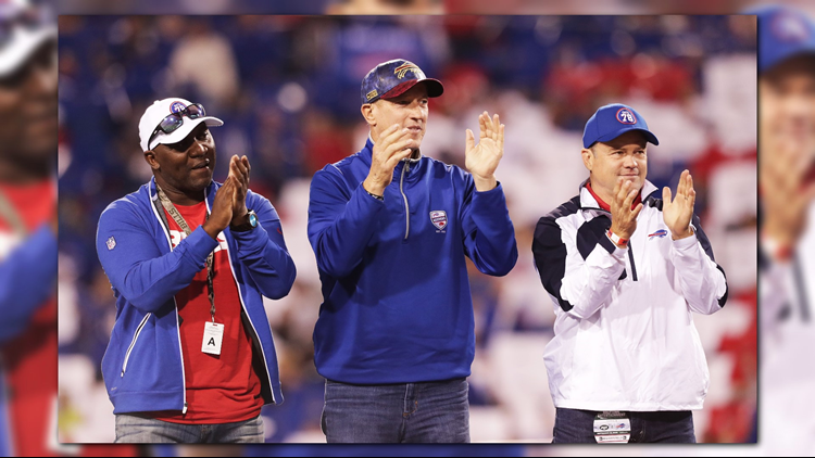 Darryl Talley, Kent Hull, Steve Tasker and six other former Buffalo Bills were nominated for the 2019 Pro Football Hall of Fame.