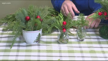 2 the Garden: How to make simple decor with pine branches