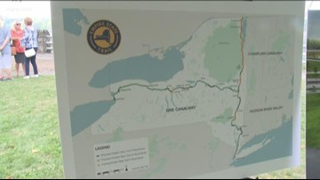 State trails to extend from NYC to the Falls