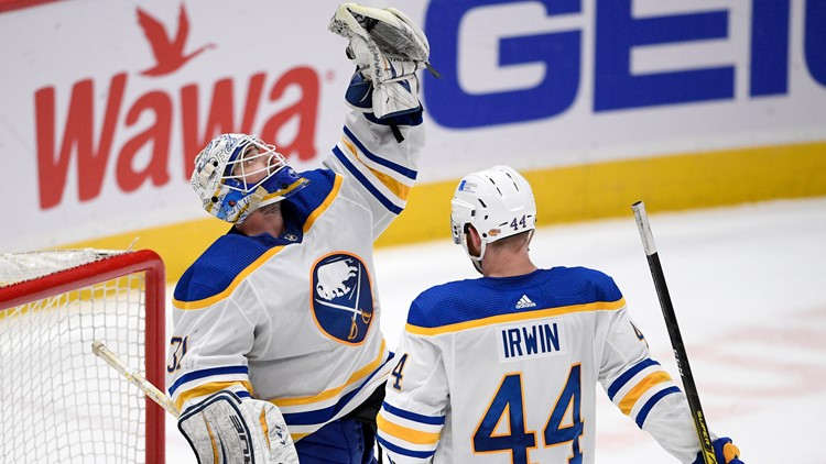 Sabres bounce back with 5-2 win over East leader, Capitals