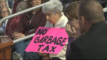 Neighbors voice opposition to potential garbage fee in Niagara Falls