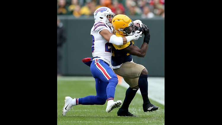 Bills safety Micah Hyde is considered week-to-week after suffering a groin injury in Sunday's 22-0 loss at Green Bay.