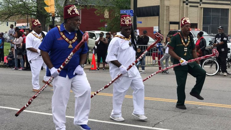 Buffalo celebrates Juneteenth with parade, festival at MLK Park