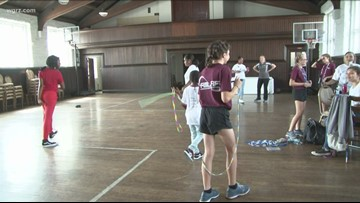 'Jump 4 Confidence' aims to empower girls through jump rope