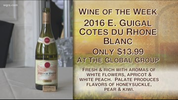 Kevin's wine of the week is the 2016 E. Guigal Cotes Du Rhone Blanc