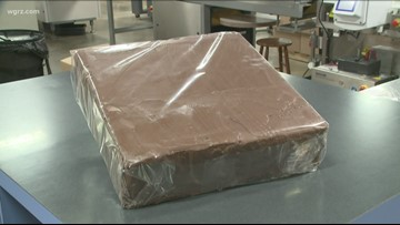 Fowler's Submits For Sponge Candy Record