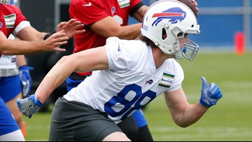 Bills tight ends starting to get healthy