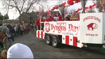 Getting ready for Dyngus Day in Buffalo