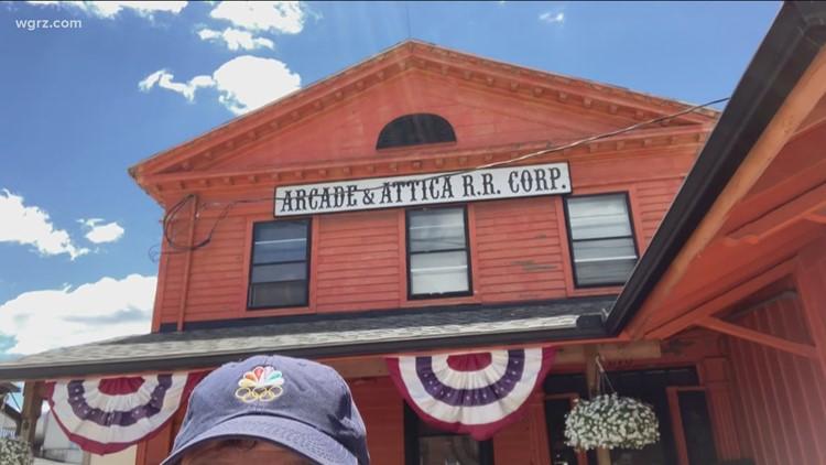 Celebrate WNY: Father's Day rides at the Arcade & Attica Railroad