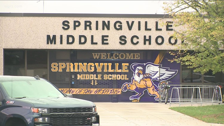 Positive Cases At Springville-Griffith