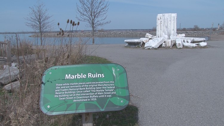 Unknown Stories of WNY: M&T's 'Marble Temple' dots waterfront attraction