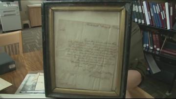 Unknown Stories: George Washington Letter